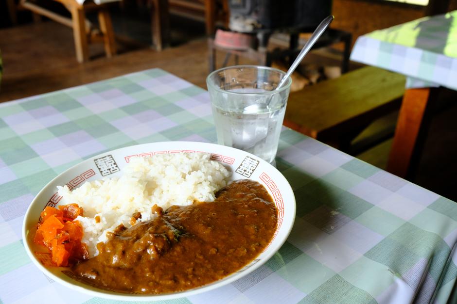三条の湯の鹿肉カレーライス