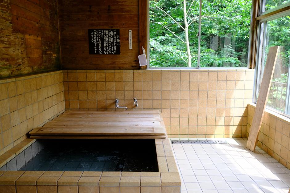 三条の湯のお風呂