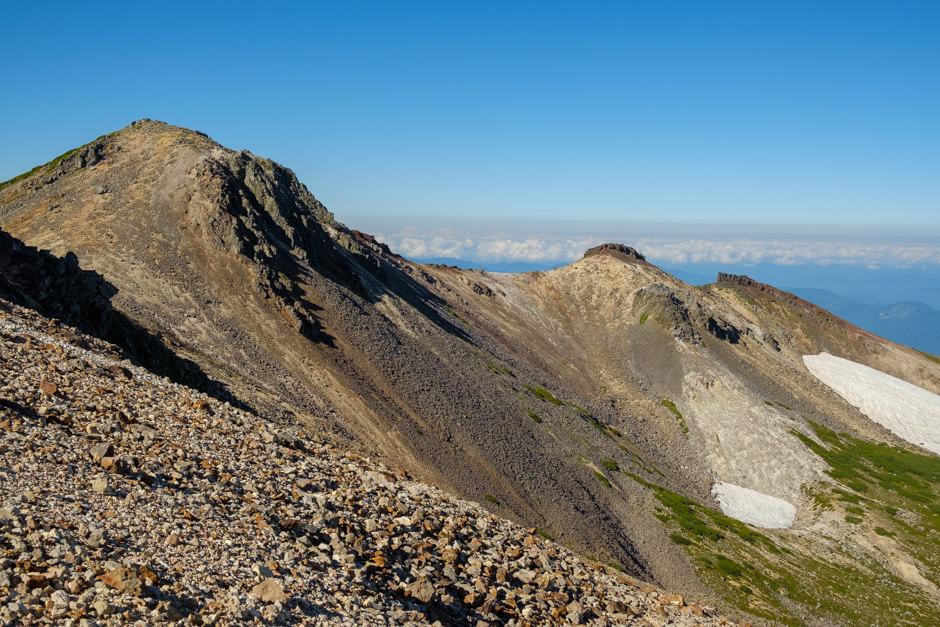 大日岳と屏風岳