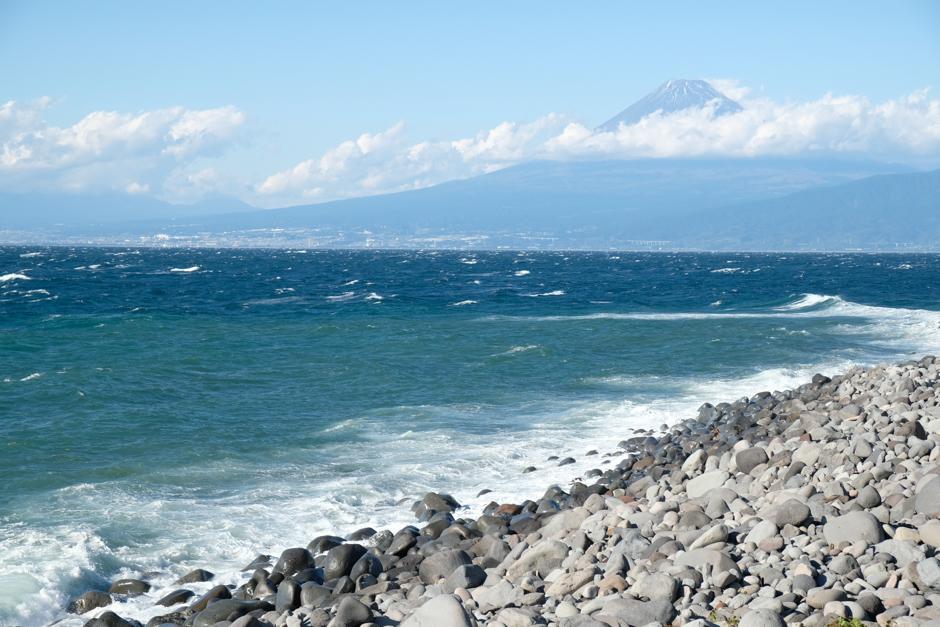 戸田から見た富士山