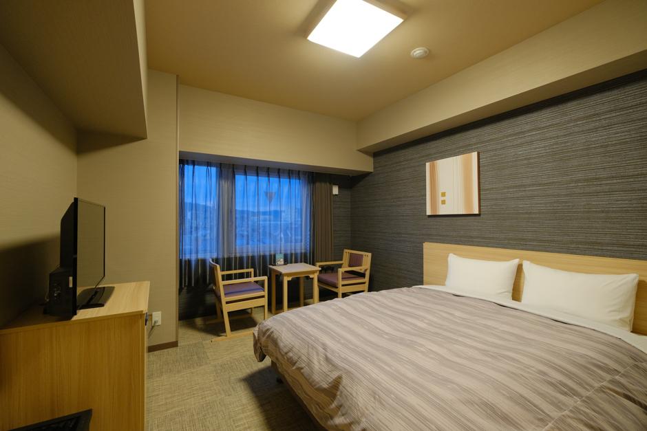 ホテルルートイン輪島の部屋