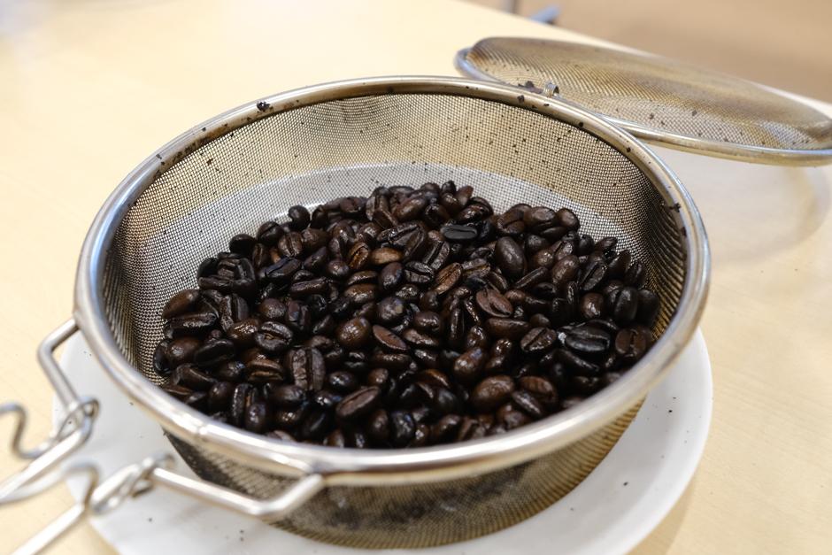コーヒー焙煎体験